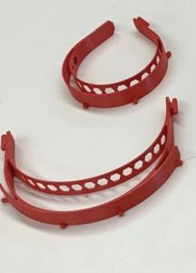 3-D printed mask parts